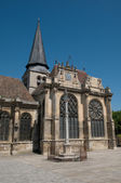 France, church of Magny en Vexin in Val d Oise — Stock Photo