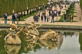 France, fountain in Versailles Palace park — Foto Stock