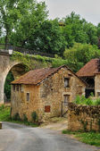 France, picturesque village of Aillac — 图库照片