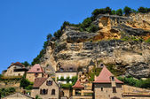 Perigord, the picturesque village of la roque Gageac — Stock Photo