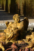 Frankrike, en fontän i versailles palace park — Stockfoto