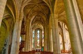 Frankrike, kyrkan av magny en vexin i val d oise — Stockfoto