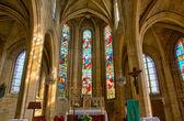 法国,马格尼 en vexin 在 val d 大教堂瓦兹 — 图库照片