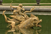 France, fountain in Versailles Palace park — Foto de Stock