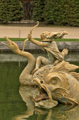 France, fountain in Versailles Palace park — Stockfoto