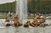 Frankrike, apollo fontän i versailles palace park — Stockfoto