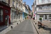 France, city of Honfleur in Normandie — Stockfoto