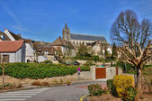 France, picturesque village of Montfort l Amaury — Stock Photo