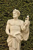 France, marble statue in the Versailles Palace park — 图库照片