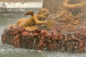 France, a fountain in the Versailles Palace park  — Stock Photo