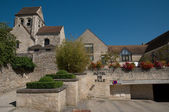 France, picturesque village of Courdimanche  — Stock Photo