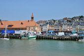 França, cidade pitoresca de trouville em normandia — Fotografia Stock