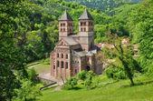 Roman abbey of Murbach in Alsace — Stock Photo