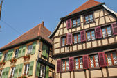 France, picturesque old city of Obernai — Stock Photo