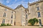Castle of Vayres in Gironde — Stock Photo