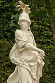 France, marble statue in the Versailles Palace park — Stock Photo