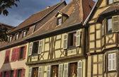 Frankrijk, klein dorp van kaysersberg in elzas — Stockfoto