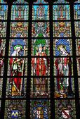 Бельгия, живописные Нотр Дам дю Церковь Саблон Брюсселя — Стоковое фото