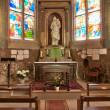 Stock Photo: France, historical church of Triel sur Seine