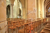 France, historical church of Triel sur Seine  — Stock Photo
