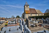 France, picturesque church of Tacoignieres  — Stock Photo