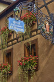 France, small village of Riquewihr in Alsace — Foto de Stock