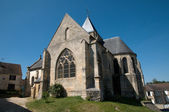 France, the picturesque church of Us — Stock Photo