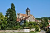 France, picturesque church of Vetheuil  — Stock Photo