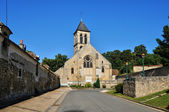 France, the picturesque church of Montgeroult — Stock Photo