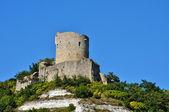 France, the picturesque village of La Roche Guyon   — Stock Photo