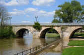 France, the picturesque city of Poissy  — Stock Photo