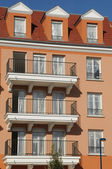 France, residential block in Vaureal — Stock Photo