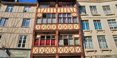France, the city of Rouen in Normandie — Stock Photo