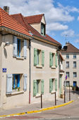 France, the picturesque city of Vernouillet — Stock Photo