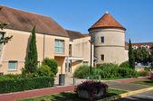 Ile de France, the city of Voisins le Bretonneux — Stock Photo