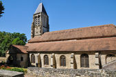 France, the picturesque church of Mery sur Oise   — Stock Photo