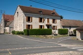 Picturesque village of Bouconvillers in Picardie — Stock Photo