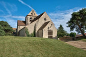 France, picturesque church of Courdimanche   — Stock Photo