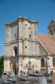 France, the picturesque church of Nucourt — Stock Photo