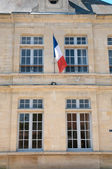 France, the city hall of Sagy  — Stock Photo