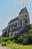 France, the picturesque church of Cormeille en Vexin — Foto Stock