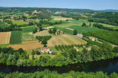 Perigord, Dordogne valley in Castelnaud la Chapelle — Stockfoto