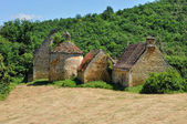 Landscape of Sainte Mondane in Perigord — Stock Photo