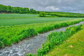 Normandie, the Lieure river in Rosay sur Lieure — Stock Photo