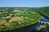 Perigord, Dordogne valley in Castelnaud la Chapelle — Foto Stock