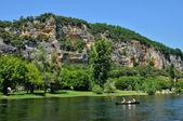 Perigord, the picturesque village of la roque Gageac — Stock Photo