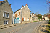 Ile de France, the village of Frouville — Stock Photo