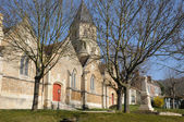 France, the village of Saint Martin la Garenne in Les Yvelines — Stock Photo