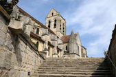 France, the church of Auvers sur Oise — Stock Photo
