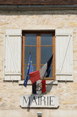 France, the city hall of Haute Isle in Val d Oise — Stock Photo
